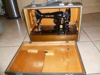 IMMACULATE 99K-Singer-SEMI-INDUSTRIAL-Sewing-Machine-IDEAL for-CANVAS, denim