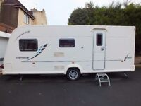 2010 Bailey Olympus 525, 5 Berth, Double Dinette / Double Bedroom