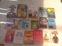 Book bundle ONLY £6 or buy individually Fiction, holiday reads, health, celebrity Car boot joblot