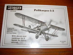 Encore : Polikarpov I-3 1/72 - France - État : Occasion: Objet ayant été utilisé. Consulter la description du vendeur pour avoir plus de détails sur les éventuelles imperfections. ... - France