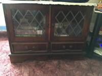 Mahogany solid wood cabinet