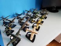 Model fighter planes