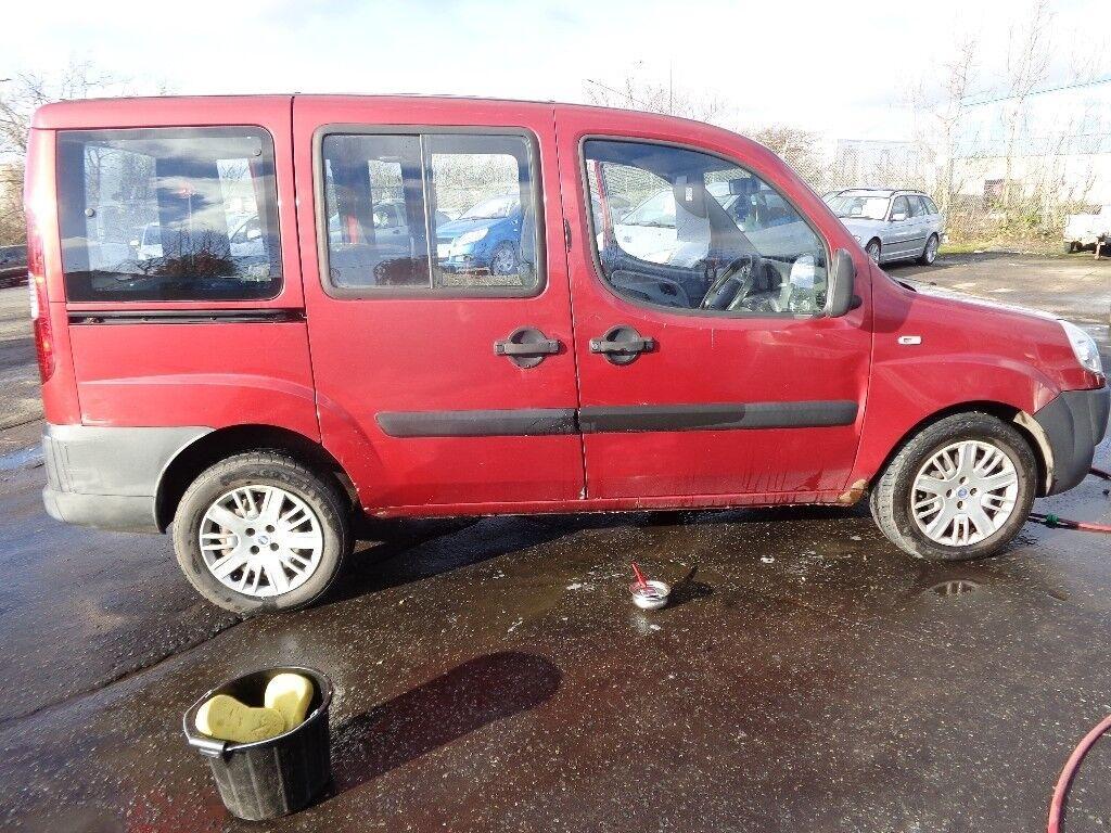 2007(57reg) Fiat Doblo 1.9 Multijet Diesel Car ,MOT'd Dec 18