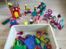 Large play doh box mixed sets