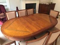 Grange dining table , 8 chairs and sideboard