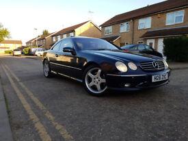 2001 Mercedes-Benz CL55 AMG 5.4 360bhp.5.4 petrol,Automatic