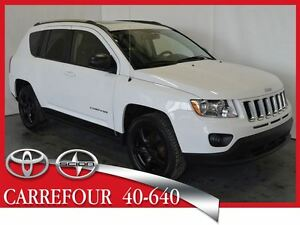 2013 Jeep Compass Limited 4x4 Cuir+Navigation+Toit Ouvrant