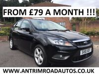 2010 FORD FOCUS ZETEC 1.6 ** FINANCE AVAILABLE ** ALL MAJOR CARDS ACCEPTED