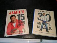 Jamie Oliver 15 and 30 minute meal books