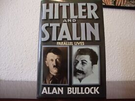 Hitler and Stalin - Parallel Lives. Author Alan Bullock, hardback, 1190 pages. Mint condition.