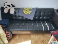 Click clack sofa for free, used, have rips