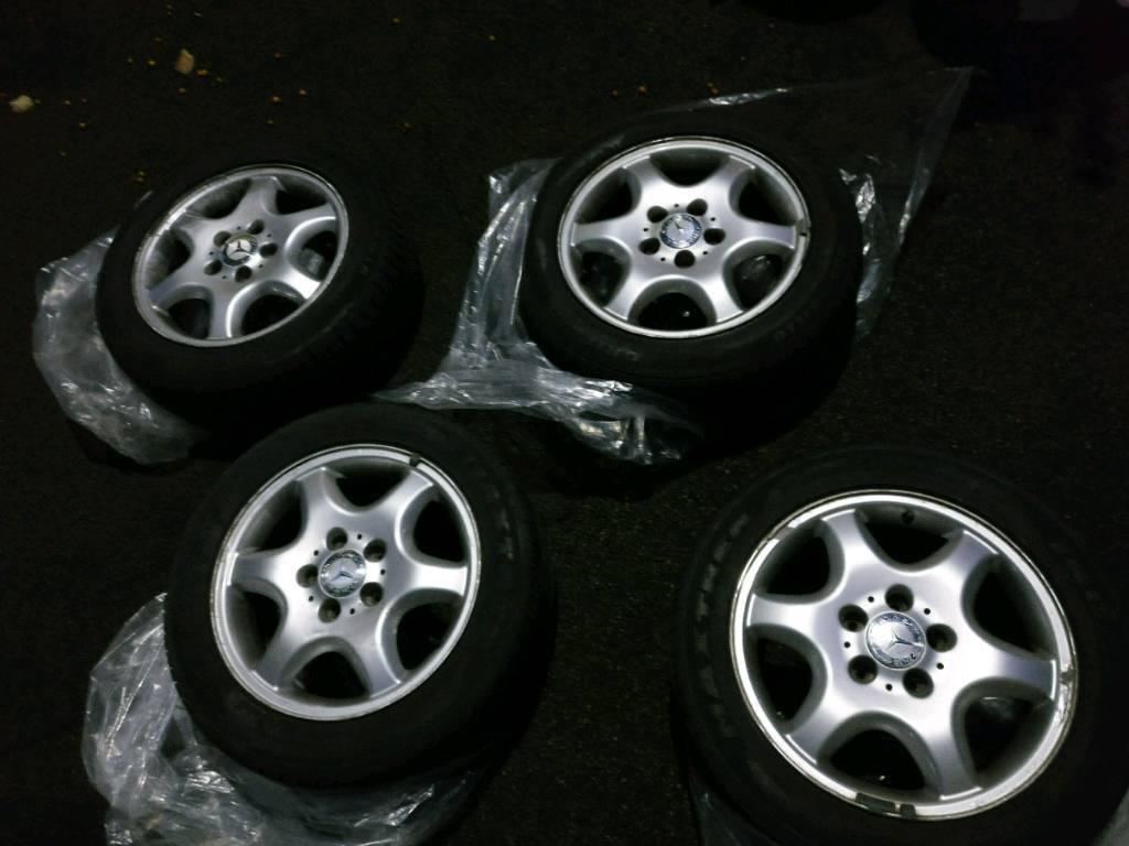 Mercedes C Class Alloy Wheels
