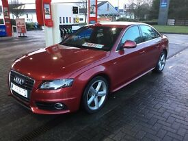 Audi A4 2.0 TDi S-line 2008 6 speed Manual