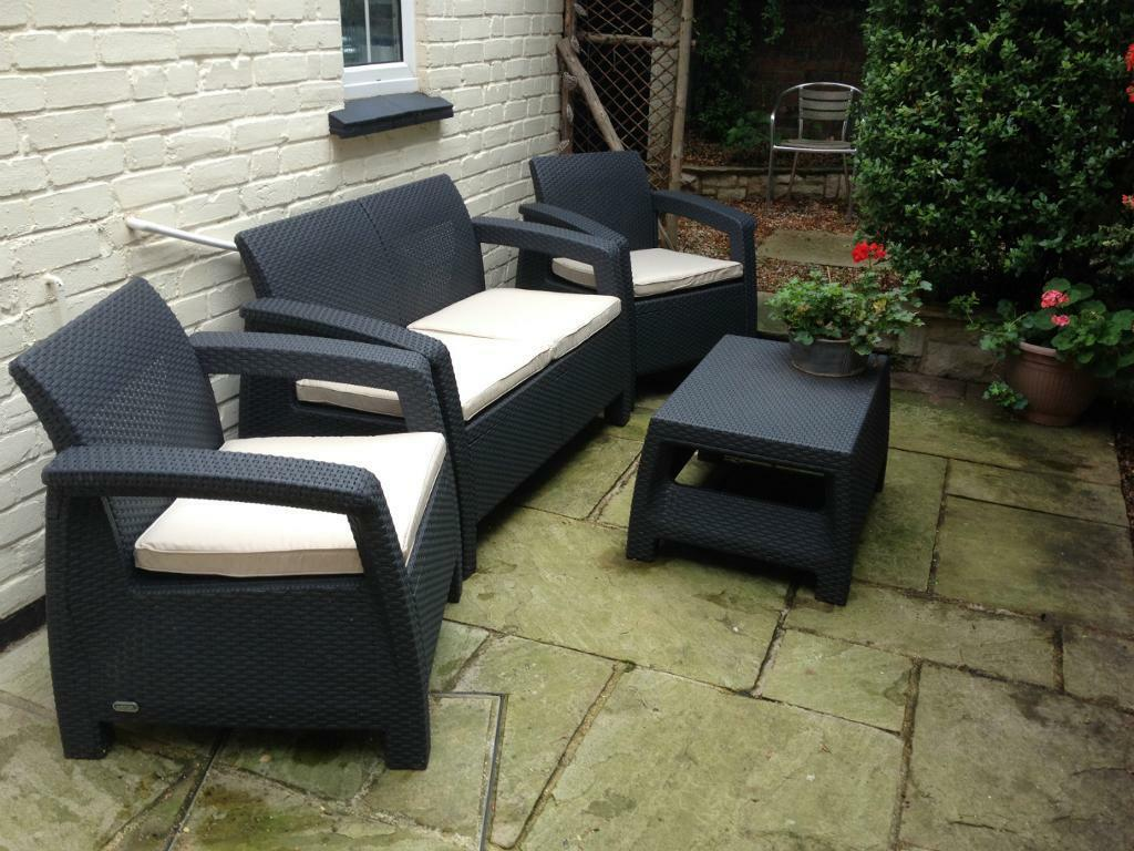 Image result for rattan garden furniture