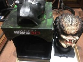 Predator Ultimate hunting Trophy Limited Edition 3D blu ray boxset bust collectors limited edition