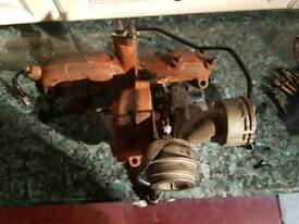 Reconditioned Turbo with manifold