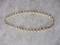 9ct gold 18'' belcher chain (7 grams approx)