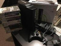 Xbox 360 Elite +18 games and 120GB disc