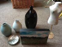 Vases Blue