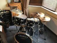 Mapex drum kit, good condition - perfect beginner / intermediate kit