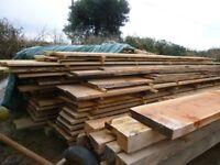 larch/Douglas fir planks/boards/cladding/beams