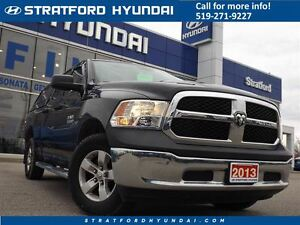 2013 Ram 1500 ST | 4X4 | 4.7 V8 | 1 OWNER- QUAD CAB | LOW KM |