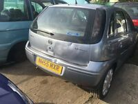 VAUXHALL CORSA DESIGN TWINPORT 2006- FOR PARTS ONLY