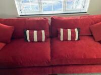 Ex Gillies 3 & 2 Seater Sofa