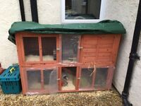 Guinea pig/rabbit cage 2 tier in good condition , around 7 months old