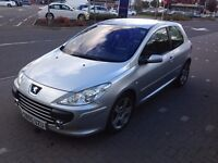 Peugeot 307, 2.0 HDI XSI, Good Condition, M.O.T - 15/11/2016