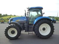 2007 New Holland T7050 4wd with Terraglide suspension
