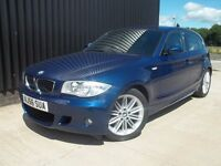 2006 (56) BMW 1 Series 2.0 118i M Sport 5dr 1 Previous Keeper 3 Months Warranty Finance Available