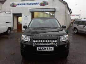 Reg.30/01/2010 LAND ROVER FREELANDER HSE ESTATE 2.2DIESEL,TOP OF THE RANGE,YEAR MOT,SERVICE,WARRANTY