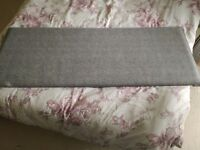 Double bed headboard for sale.
