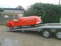 Car Transport Taunton Bridgewater Highbridge Burnham Weston Man and Van Collections Light Haulage