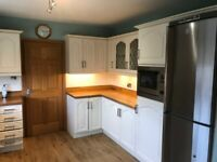 Complete kitchen units and appliances