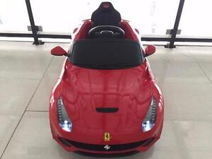New Kids Ride on Toys Ferrari Ride on Car Remote Controlled 12V Electric Great Gift Christmas special