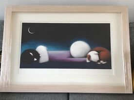 Doug Hyde Nightwatchman Framed Limited Edition Print with COA