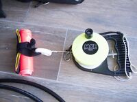 Surface marker buoy (SMB) with reel (diving equipment)