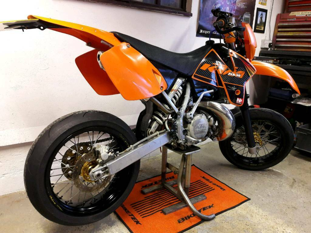ktm exc 300 2 stroke supermoto road legal motocross. Black Bedroom Furniture Sets. Home Design Ideas
