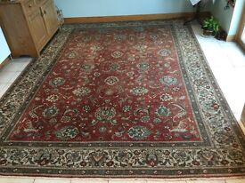 Old Traditional Hand Made Wool Persian rug