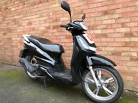 PEUGEOT TWEET 125 BLACK 2013 LIKE SH 125