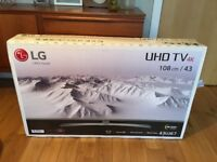 LG 43UJ670V 43 Inch Smart 4K Ultra HD TV with HDR