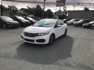 2015 Honda Civic EX($133 bw, w/ $0 down, OAC)