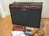 LINE 6 Spider 212 100W amplifier and FB4 footswitch