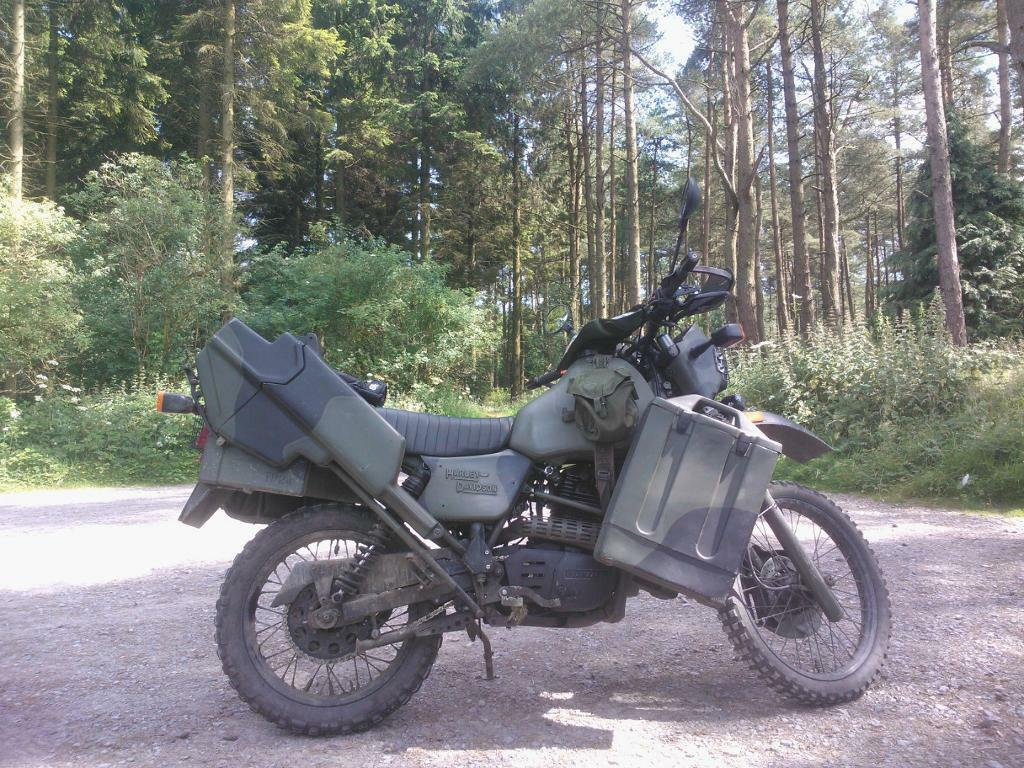 Ex Army Harley Davidson MT350 for sale £1850