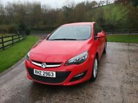 2013 Vauxhall ASTRA Energy 1.6 Petrol, LOW MILEAGE, F.S.H.