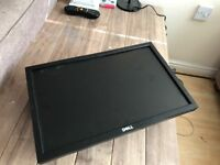 "Dell 19"" monitor with hanging bracket"