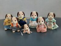 Sylvanian families beagle dog family very good condition