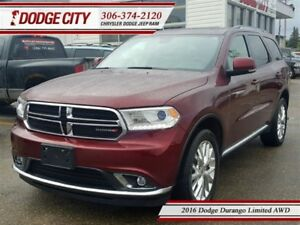 2016 Dodge Durango Limited | AWD - Remote Start, Uconnect